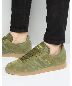 adidas Originals   Зеленые Кроссовки Gazelle Bb5265