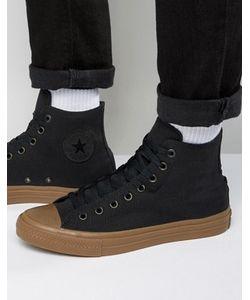 Converse | Черные Высокие Кеды Chuck Taylor All Star Ii 155496c