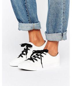 New Look | Кроссовки Из Искусственной Кожи С Контрастными Шнурками