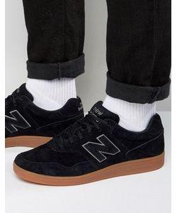 New Balance | Черные Замшевые Кроссовки Ct288bl