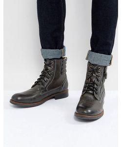 STEVE MADDEN   Черные Кожаные Ботинки Prive