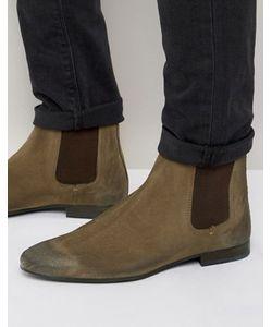 WALK London   Замшевые Ботинки Челси