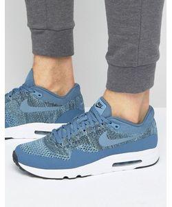 Nike | Голубые Кроссовки С Вязаным Верхом Air Max 1 Ultra 2.0