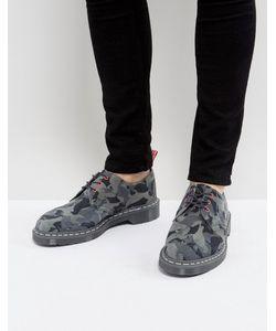 Dr. Martens | Камуфляжные Туфли С 3 Парами Люверсов X Staple