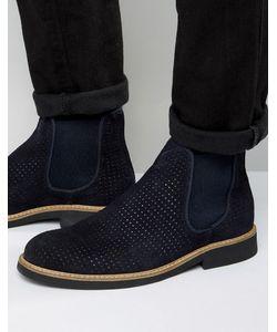 Selected Homme | Замшевые Ботинки Челси С Перфорацией Noah