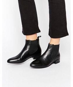 Vagabond | Черные Кожаные Ботинки Челси