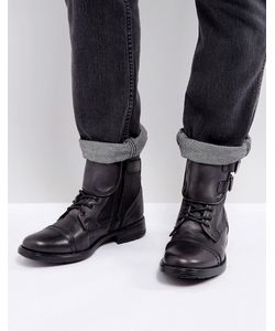 STEVE MADDEN   Черные Кожаные Ботинки Galvaniz