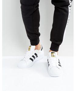 adidas Originals | Белые Кроссовки Superstar C77124