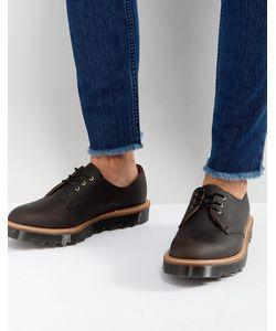 Dr. Martens | Туфли С 3 Парами Люверсов И Зубчатой Подошвой Made