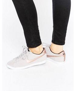 Nike | Бежево-Золотистые Кроссовки Racquette Court
