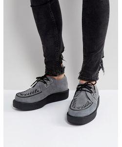 T.U.K | Замшевые Туфли На Платформе
