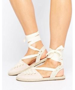Head Over Heels | Эспадрильи С Завязками By Dune Giah