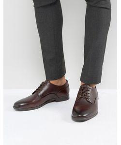 Hudson London   Коричневые Туфли Со Шнуровкой