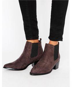 Head Over Heels | Ботинки Челси С Острым Носком