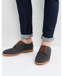 Hudson London   Парусиновые Туфли На Шнурках