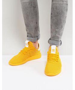 adidas Originals | Желтые Кроссовки X Pharrell Williams Tennis Hu Cp9767