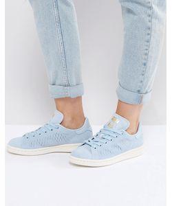 Adidas | Голубые Кроссовки Originals Stan Smith