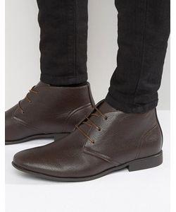 Asos | Коричневые Ботинки Чукка