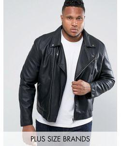 Barney's Originals   Байкерская Куртка Из Искусственной Кожи Barneys Plus