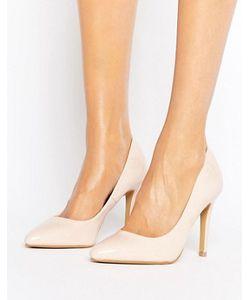 Head Over Heels | Светло-Бежевые Лакированные Туфли-Лодочки By Dune Alice