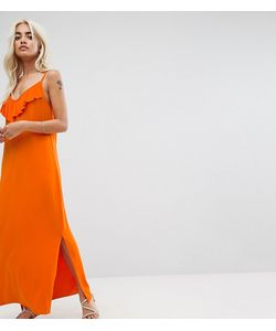 ASOS PETITE | Платье Макси С Оборками