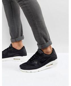 Nike | Черные Кроссовки Air Max 90 Ultra Breathe 898010-001