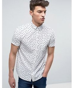 Brave Soul | Рубашка С Короткими Рукавами И Фламинго