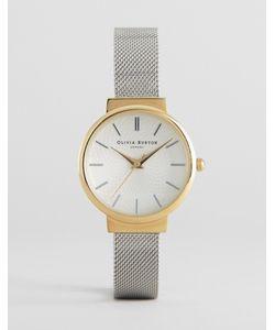 Olivia Burton | Часы С Серебристым Сетчатым Ремешком Hackney