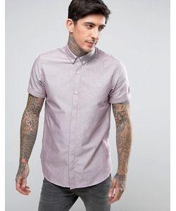 Fred Perry | Оксфордская Рубашка С Короткими Рукавами