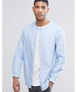 ADPT   Рубашка Без Воротника