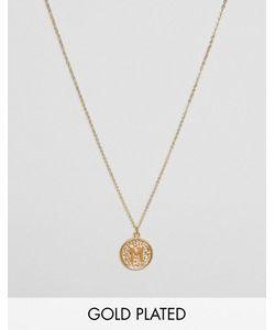 Ottoman Hands | Ожерелье С Инициалом М На Подвеске