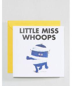 OHH DEER | Открытка Little Miss Whoops