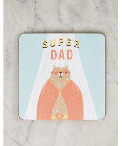 OHH DEER | Подставка Под Напитки С Надписью Super Dad