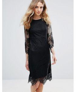ICHI | Кружевное Платье С Фигурными Краями