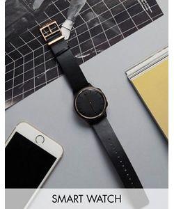 MISFIT | Черные Смарт-Часы С Золотистой Отделкой Phase Mis5002