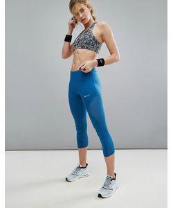 Nike | Укороченные Леггинсы Running Power