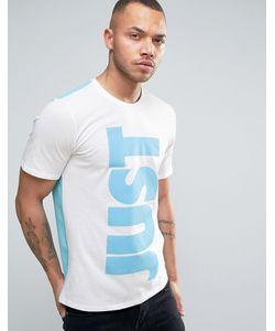 Nike | Футболка С Принтом Just Do It 834721-100