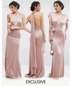 TFNC | Блестящее Платье-Трансформер Макси Wedding