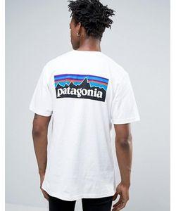 Patagonia | Футболка Классического Кроя С Карманом И Логотипом На Спине