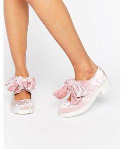 Asos | Туфли На Плоской Подошве С Бантом Mousse