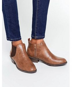 Head Over Heels   Светло-Коричневые Ботинки Челси By Dune Piro