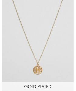 Ottoman Hands   Ожерелье С Инициалом М На Подвеске