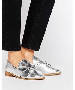 Asos | Туфли На Плоской Подошве С Декоративными Узелками Maximum