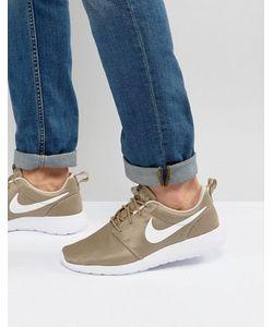 Nike | Бежевые Кроссовки Roshe One 511881-203
