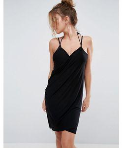 Asos | Пляжное Платье С Запахом