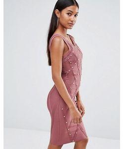 WOW Couture | Платье С Отделкой Заклепками