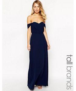 Jarlo Tall | Платье Макси С Открытыми Плечами Florence