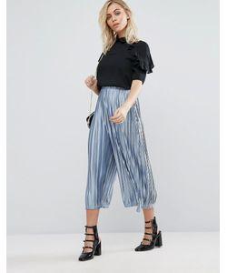 Fashion Union | Trousers In Plisse
