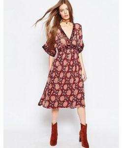 Asos | Комбинируемое Платье Миди