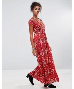 Glamorous | Платье Макси С Цветочным Принтом
